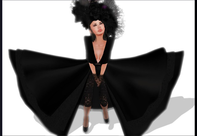 **GizzA** Sophistic Gown [Black]