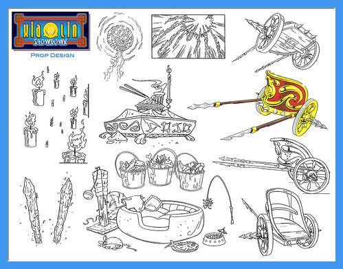 xiaolin showdown coloring pages - photo#13