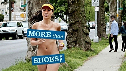 Zappos Gets Naked For New Marketing Campaign