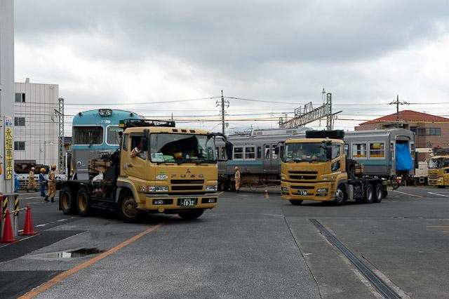 京王電鉄井の頭線3000系3029F クハ3729 デハ3029 搬出
