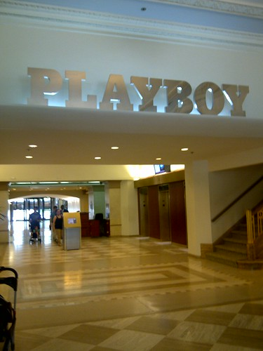 Playboy building lobby