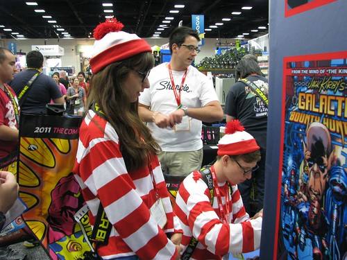 SDCC Day 1: A Quick Peek
