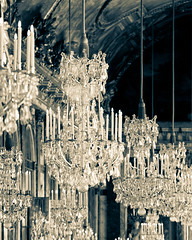 Galerie des Glaces - Hall of Mirrors (Melanie Alexandra Photography) Tags: paris france beautiful shiny chandelier versailles