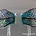 Earring : Blue Butterfly
