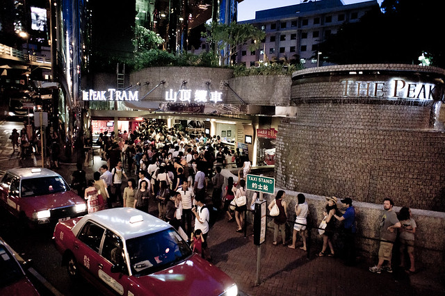 香港,中環,山頂纜車