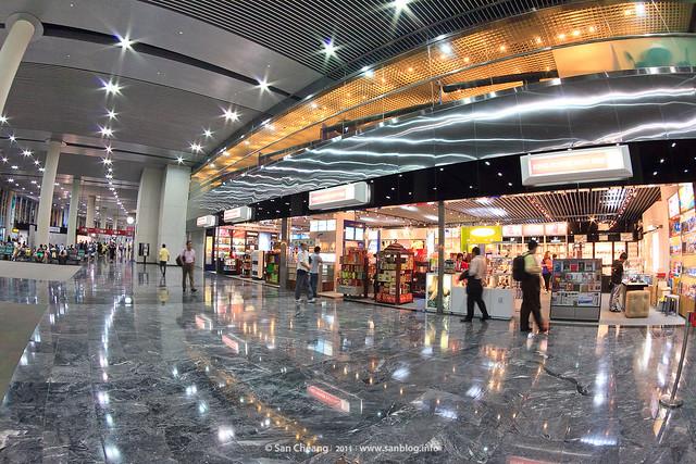 澳門國際機場小景