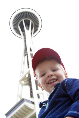 Will at the Space Needle