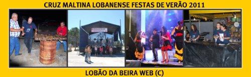 CRUZ MALTINA LOBANENSE/FESTAS DE VERÃO 2011