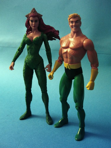 Ptw Mera with Aquaman