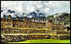 Machu Picchu - Factory Houses