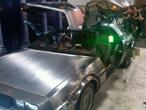 Comic-Con 2011 DeLorean