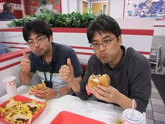 Dinner at In-N-Out