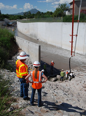 Chula Vista Spillway Repairs (lead230) Tags: arizona army flooding nogales az corps contract sinkhole repairs usarmy spillway chulavista corpsofengineers floodcontrolproject losangelesdistrict chulavistaspillway mrmconstruction