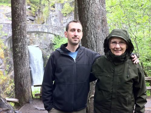 At Christine Falls