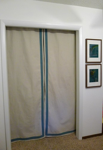 Painted Curtains