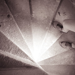 ascent (JSGraustein) Tags: france castle stairs spiral l timetravel chateau amboise chateaudamboise