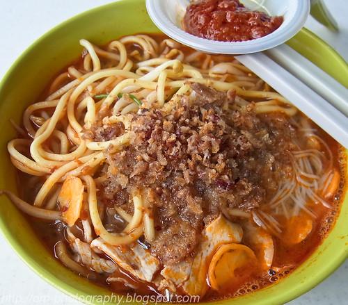 har mee, har meen, prawn mee, prawn noodle, hokkien mee,  restoran yong len, ttdi R0013272 copy