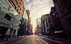 5th Avenue (isayx3) Tags: street city nyc people newyork building buildings nikon angle state guess manhattan wide perspective sigma empire studios avenue tones 5th f28 d3 fifth 14mm sabarro plainjoe isayx3 plainjoephotoblogcom