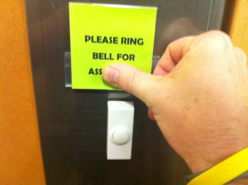 Please Ring Bell for Ass