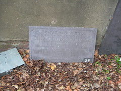 Photo of Benjamin Mayo stone plaque