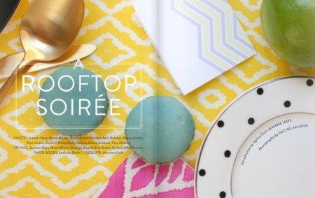 AphroChic Rooftop Soiree in Matchbook Magazine!