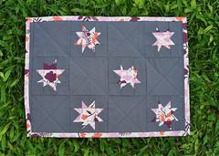 wonky stars placemat