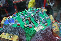 LEGO Heroica Display Case - LEGO Booth at Comic Con - 2