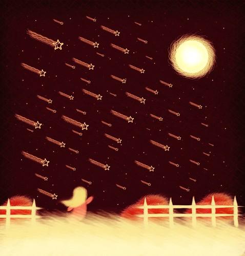 Rain Stars by JuanSe5