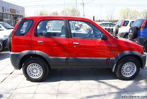 Zotye Nomand SUV Review   Appearance