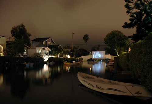 Movie Night Venice Canals