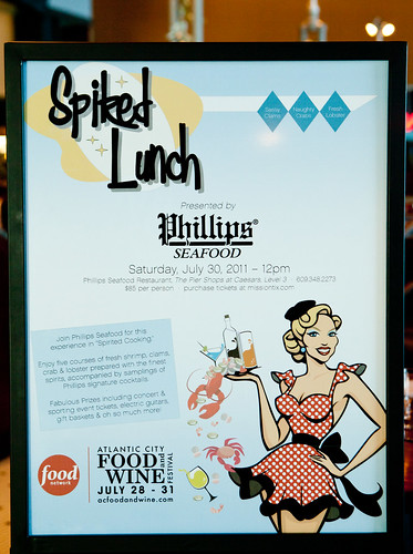 Spiked Lunch at Philips Seafood, Caesars Palace