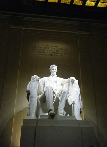 Sarah Suter's DC Internship - Lincoln Memorial
