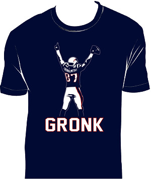 gronk just t-shirt