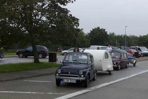 """Fiat 500 Ostsee Treffen """"Kieler Treffen"""" 2011"""