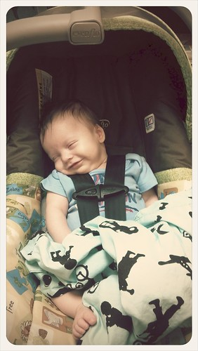 Sweet sleepy smiles