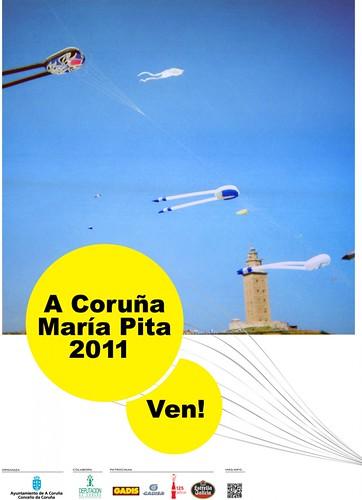 A Coruña 2011 - Festas María Pita - cartel
