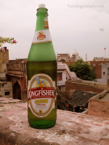 Kingfisher Premium Lager Beer - Agra, India