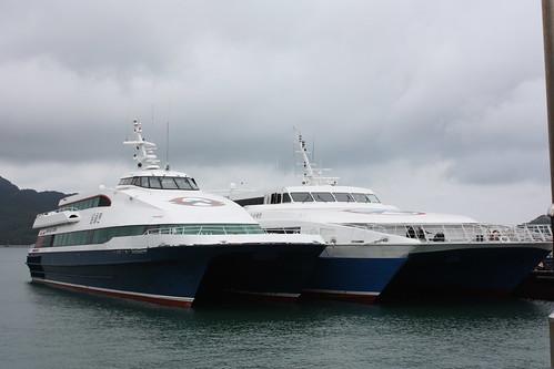 Ferry on Heuksando