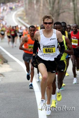 Ryan Hall competira en el Maraton de Chicago 2011