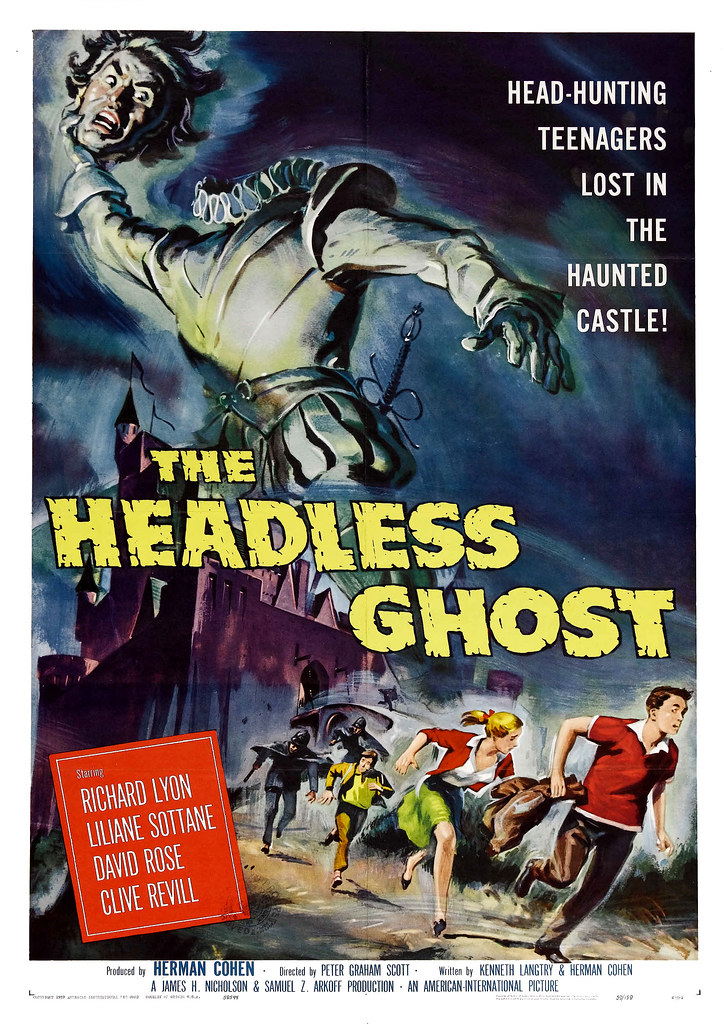 Reynold Brown - The Headless Ghost (American International, 1959)