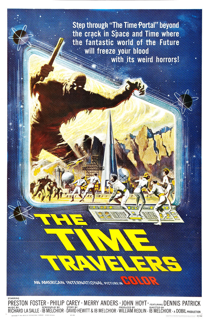 Reynold Brown - The Time Travelers (American International, 1964)