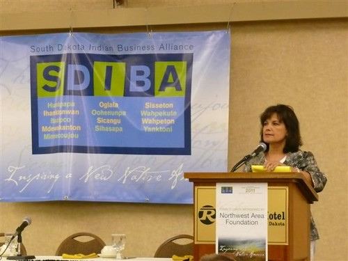Rural Development South Dakota State Director Elsie Meeks Addresses the 2011 South Dakota Indian Business Alliance Conference