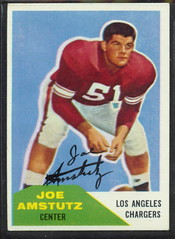 1960 Fleer - 028 - Joe Amstutz