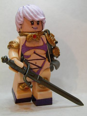 "Isabella ""Ivy"" Valentine (~Amadgunslinger~) Tags: game video lego fig military tomb ivy duke mini lara croft soul forever minifig custom calibur raider nukem brickarms brickforge"