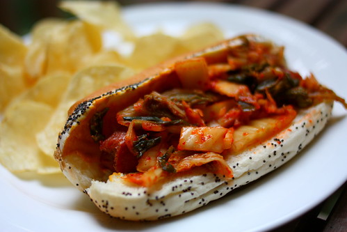 White Wrapped Kimchi With Persimmon And Dates From 'The Kimchi ...