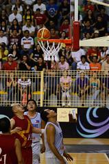 Ball til you fall (ehkxbox) Tags: game net sports basketball ball asian bahrain nikon emotion action philippines middleeast arab legends nikkor rim 70200 allstar f28 pinoy pba d7000