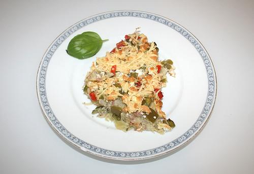 28 - Pikanter Kartoffelkuchen / Zesty potato cake - Serviert