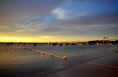 PANORAMA (J.L.G.C.) Tags: sol azul agua paisaje amanecer cielo tenerife santacruzdetenerife sanandres lasteresitas