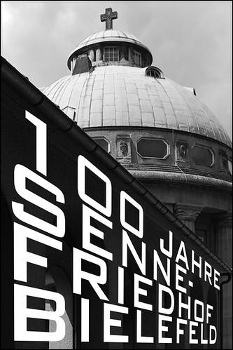 100 Jahre Sennefriedhof Bielefeld Fotoausstellung