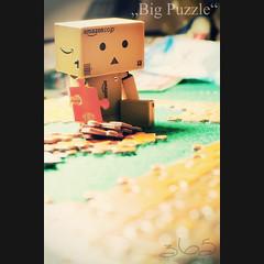 Big Puzzle (Oliver Totzke) Tags: game 35mm toy nikon days puzzle 365 nikkor f18 dx danbo revoltech danboard d7000